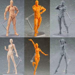 Body Painting Rekwizyty 2.0 DX Ustaw model figurowy