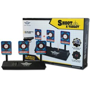 Elektryczne światło Efekt dźwiękowy Punktacja Miękki pocisk celu Ogólnego przeznaczenia Zabawka Zabawka