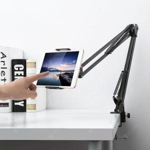 Gocomma Metal Long Clip Arm Uchwyt na telefon komórkowy