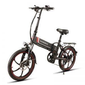 Samebike 20LVXD30 Inteligentny składany rower elektryczny Motorower E-bike