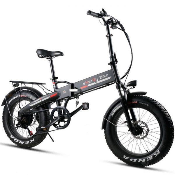 TDE10Z XW - YDL20FT Składany elektryczny rower tłuszczowy