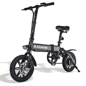 Alfawise X1 Folding Electric Bike Moped Bicycle E-bike
