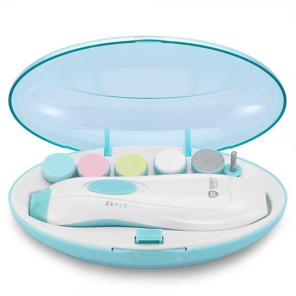 Gocomma Child Baby elektryczny zestaw do polerowania paznokci
