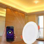 Utorch 4-calowy 10W LED Smart Downlight Color Change Alexa Voice APP Control Spot Light