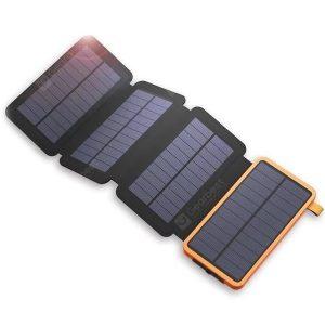 25000mAh Power Bank Wodoodporna składana ładowarka do paneli słonecznych