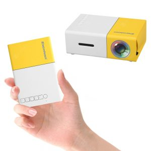 Excelvan YG300 Mini projektor kina domowego dla dzieci