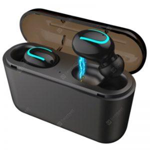 Obuuszne bezprzewodowe mini słuchawki douszne Alfawise HQB - Q32 TWS