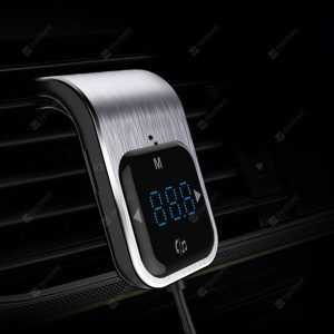 Tecney Bluetooth 4.2 Touch Screen Music Player Car Charger