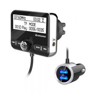 Alfawise DAB FM Radio High Fidelity Digital Car Audio Bluetooth System
