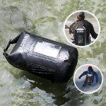 Gocomma 10L Waterproof Dry Bag for Skiing Kayaking