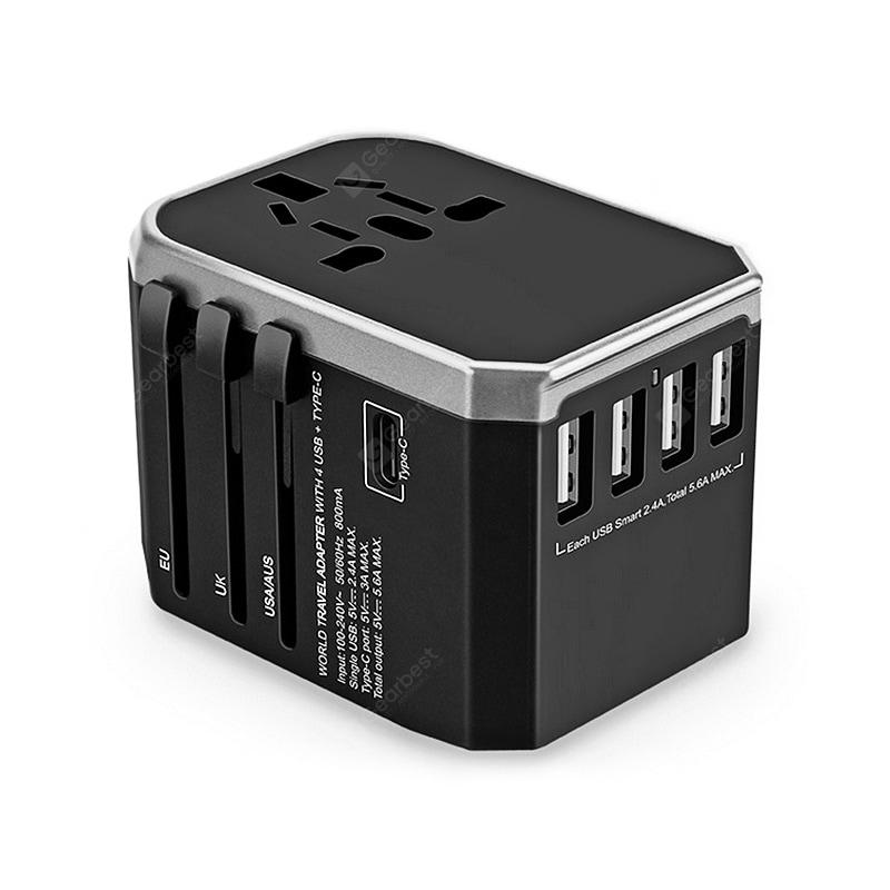 Gocomma Universal Global Travel Power Adapter