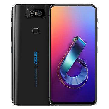 ASUS ZenFone 6 Global Version 6.4 Inch FHD+ Full Screen NFC5000mAh 48MP+13MP Flip Cameras 6GB 128GB Snapdragon 855 4G Smartphone