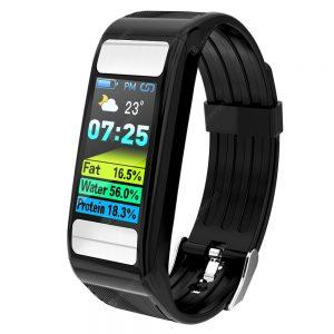 Alfawise T9 Body Fat Fitness Tracker Smart Sports Bracelet