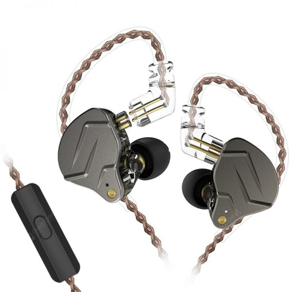 KZ ZSN pro Quad-core Moving Double Circle Headphones