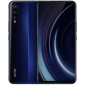VIVO iQOO 6.41 Inch FHD+ NFC 4000mAh 22.5W Flash Charge 6GB 128GB Snapdragon 855 4G Gaming Smartphone