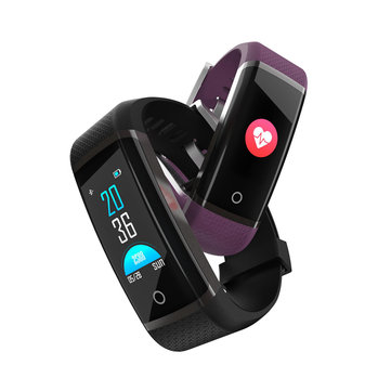 Bakeey Z19c Fitness Tracking Heart Rate O2 One-key Detection Reject Call Remote Camera Smart Watch