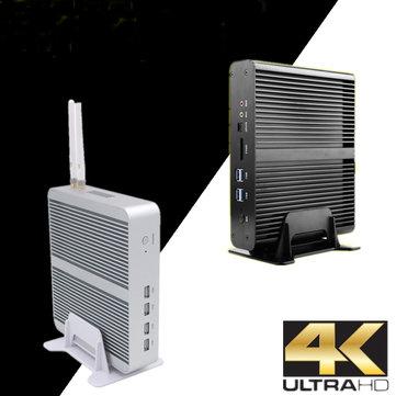 Eglobal Mini Pc Computer I7-7260U 8GB+128GB 8GB+256GB Win10 Dual Core Intel Iris Plus Graphics 640 2*DDR4 Msata+M.2 SSD Micro PC Fanless HTPC Nuc VGA HDMI