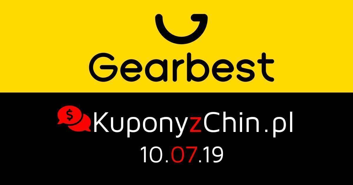 Gearbest kupony i promocje 10.07.19