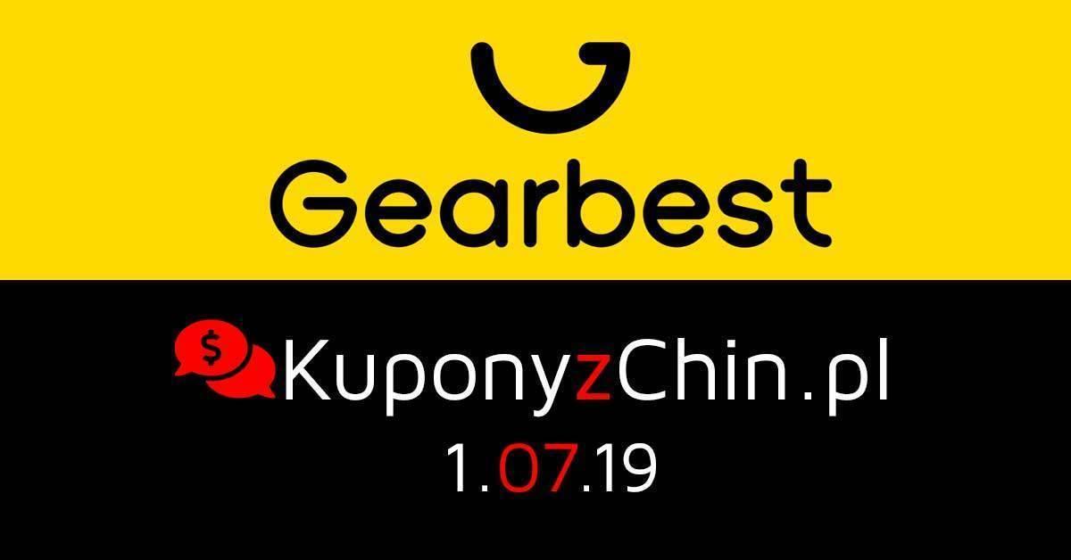 Gearbest kupony i promocje 1.07.19