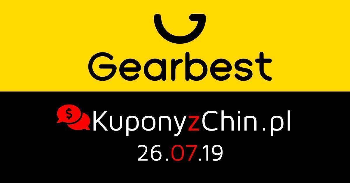Gearbest kupony i promocje 26.07.19