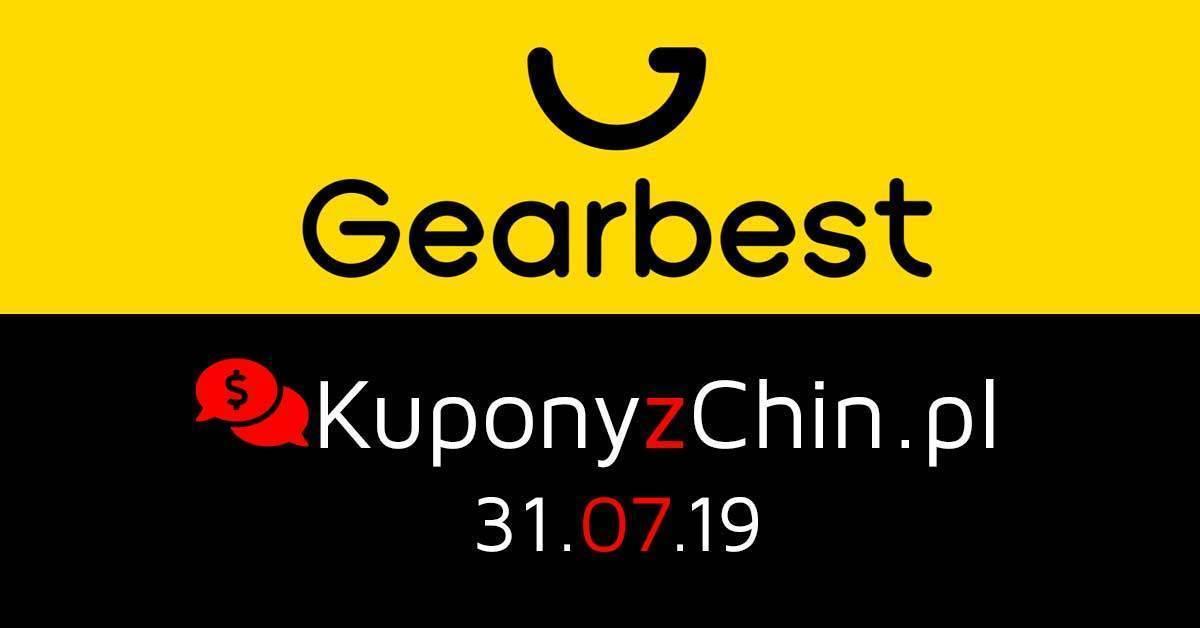 Gearbest kupony i promocje 31.07.19