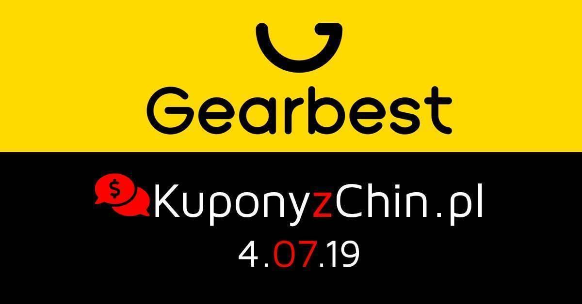 Gearbest kupony i promocje 4.07.19