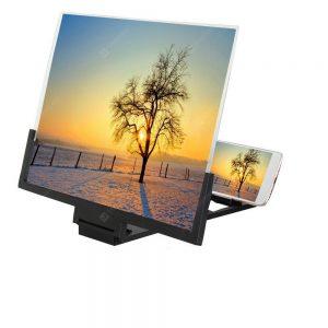 14'' Mobile Phone Screen Magnifier 3D HD Amplifier Folding Smartphone Bracket