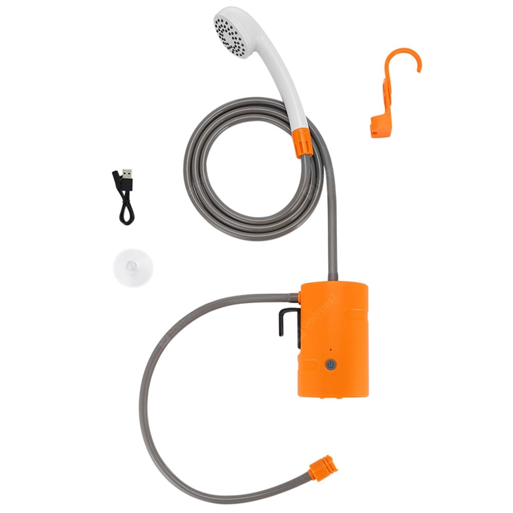 Bilikay Portable Outdoor Camping Shower Pump Set for Pet Bathing Watering Car Washing