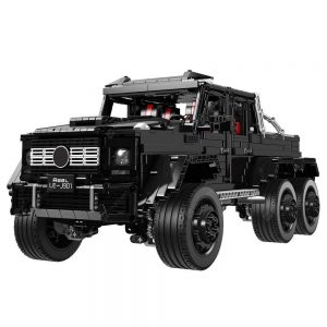 LE - J901 Six Wheel 1:8 SUV Building Block Toy Car 3300pcs