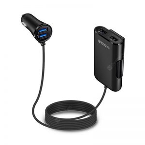 Quick Charger QC 3.0 Car Charger With 4 USB Ports For Android IOS Smartphones