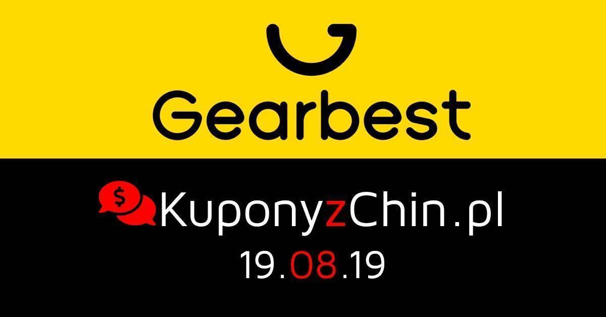 Gearbest kupony i promocje 19.08.19