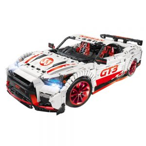 23010 MOC - 25326 DIY Building Blocks 1:10 2.4G RC Racing Car