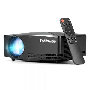Alfawise A80 2800 Lumens BD1280 Smart Projector Android 6.0 US Plug