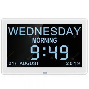 Bilikay 8001 8 inch IPS Screen Video Digital Photo Frame Day Clock