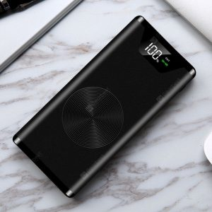 K2 Large Capacity Mobile Power Bank Ultra-thin Universal Wireless Charger 20000mAh