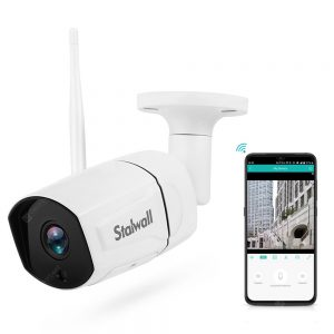 Stalwall N648 Smart 1080P AI WiFi IP Camera for Home Security