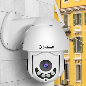 Stalwall S1 5X ZOOM 1080P H.265+ High Speed Outdoor Waterproof WiFi Wireless IP Camera