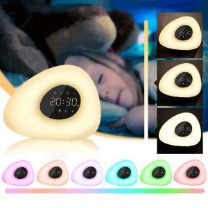 Utorch BM - 00 - E Seashell Wake Up Night Light Alarm Clock