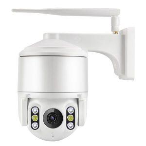 WQJ802A - FH - 2 - X WiFi IP Dome Camera PTZ Control Sound and Light Alarm PIR Monitor Two-way Talk