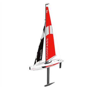 Volantexrc 791-1 65CM 2.4G 4CH Rc Boat Compass Pre-assembled Sailboat Without Battery Toy