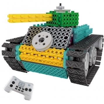 DIY klocki Electric Tank Toy 145szt