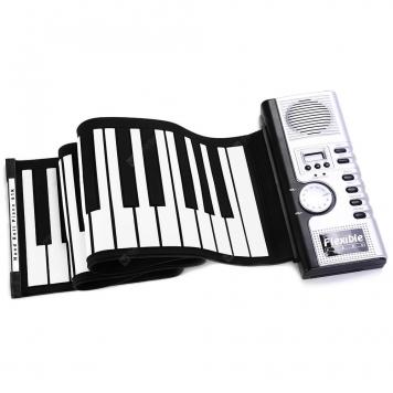 Elastyczny 61 klawiszy MIDI Digital Roll-up Keyboard Piano
